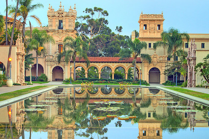 Balboa Park Lilly Pond