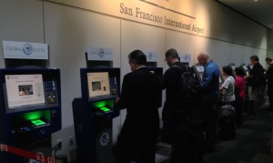 Use Global Entry Kiosks instead of customs and immigration lines