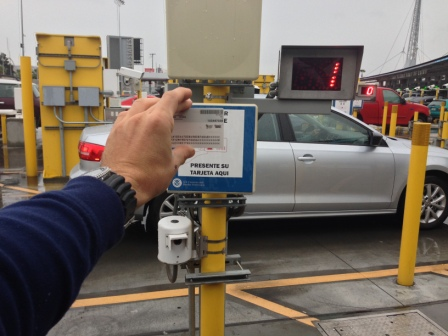 Using Global Entry card in SENTRI lanes in San Diego
