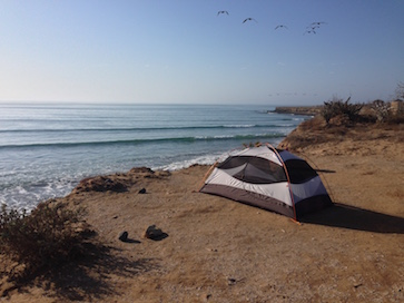 Scorpion Bay Camping in Baja Mexico