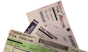 TSA PreCheck on Boarding Pass